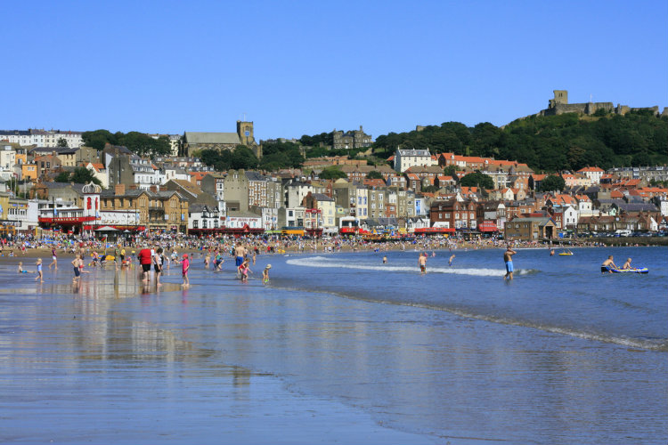 A busy day in Scarborough