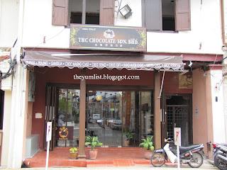 Chocolate, sweets, desserts, Malacca, Melaka, shop