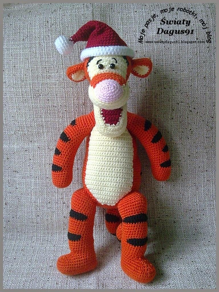 szydełkowy Tygrysek