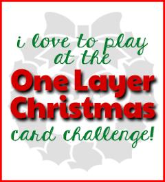 One Layer Christmas