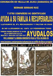 Exhumación en Velilla de Jiloca (Zaragoza)
