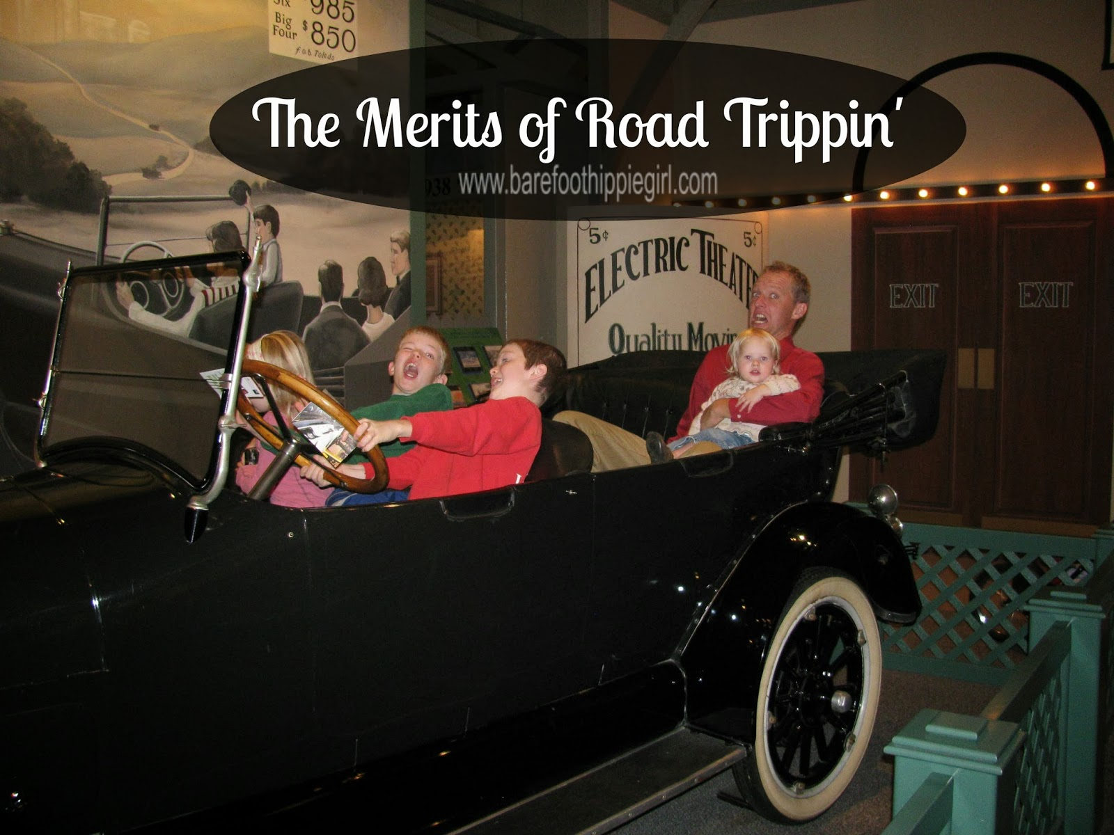 antique car at Henry Ford Museum
