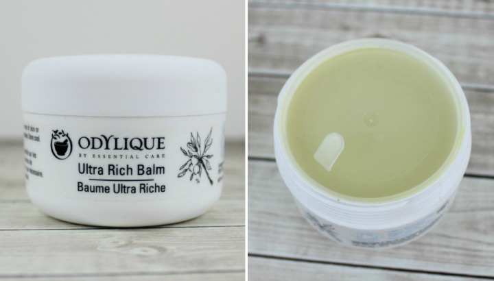 Odylique Ultra Rich Moisture Balm jar packaging