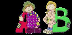 alfabeto con niños country