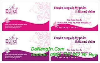 In Danh thiếp name card visit tại đà nẵng