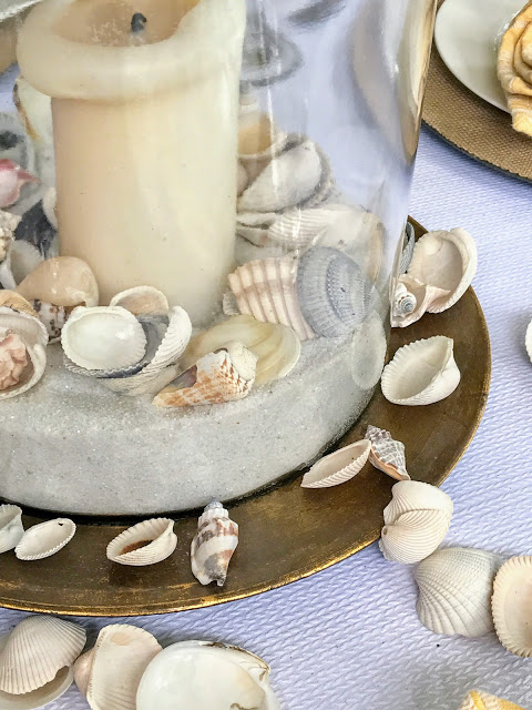 A Beach Tablescape
