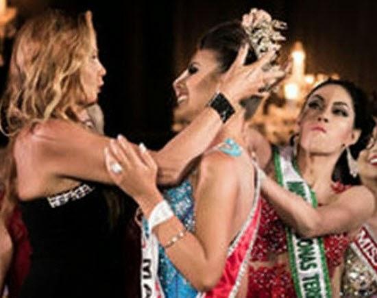 Ratu Cantik Bergaduh Rebut Mahkota Miss Amazon 2015