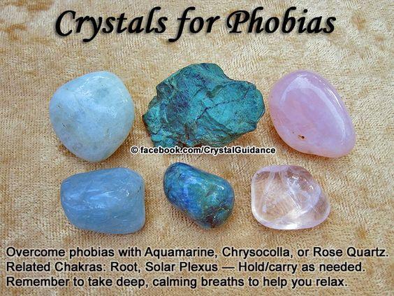cristale contra fobiilor