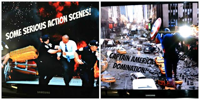Avengers Blu-Ray action scenes #MarvelAvengersWMT