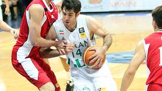 2013 FIBA Asia Championship, FIBA Asia, Iran, China, Yi Jianlan, Hamed Haddadi