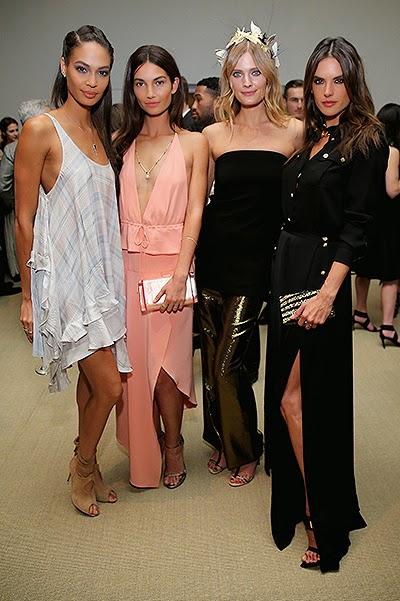 2014 Joan Smalls, Lily Aldridge, Constance Jablonski, Alessandra Ambrosio
