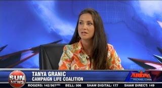 Video: Tanya on Sun News Network