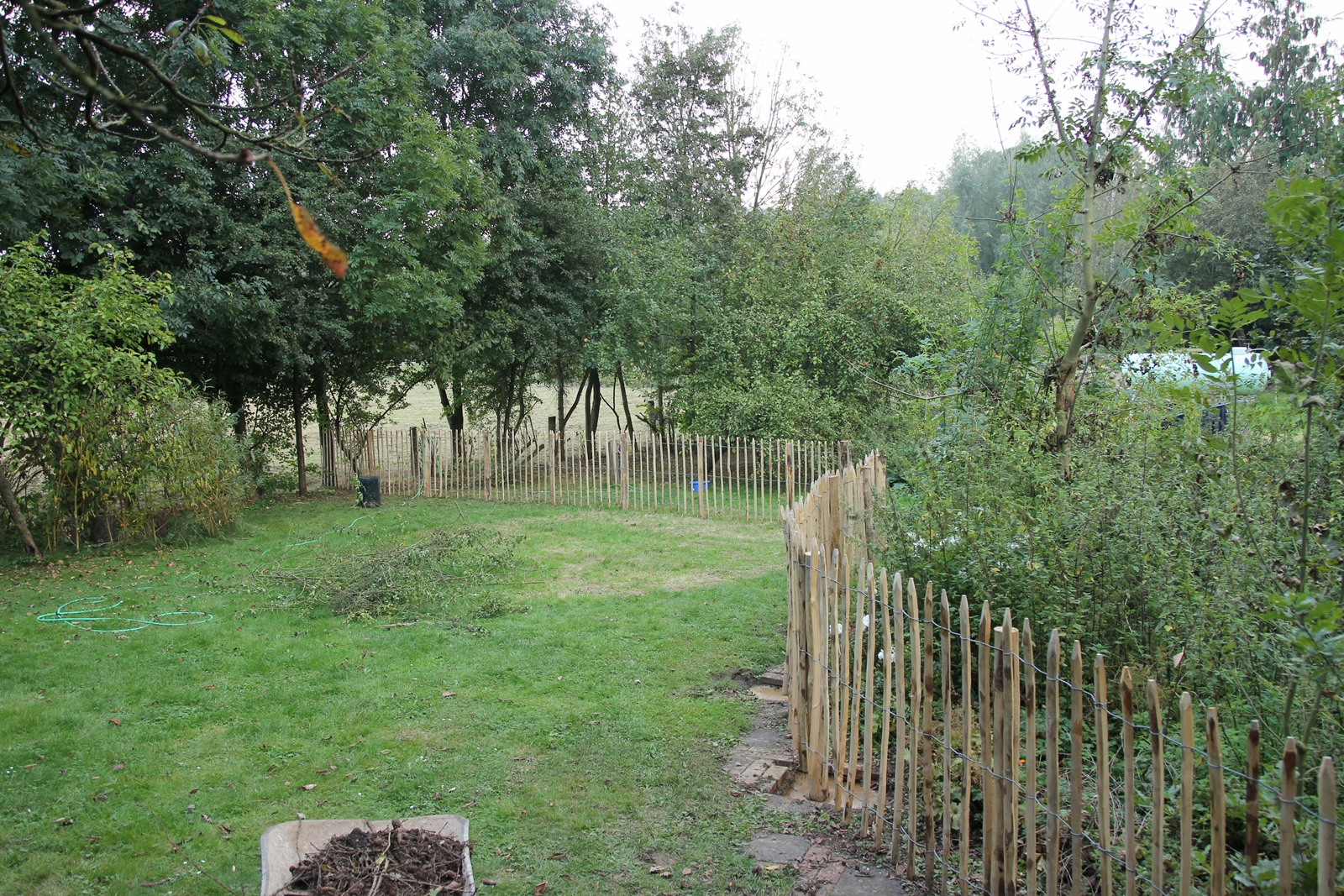 Bezaubernd Zaun Aus ästen Selber Bauen Referenz Von Für Die Sichtbaren Seiten Habe Ich Einen