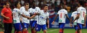 Veja os gols do Bahia contra o Paraná