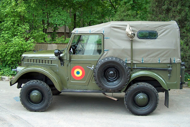 Romanian Car  Aro M461 model