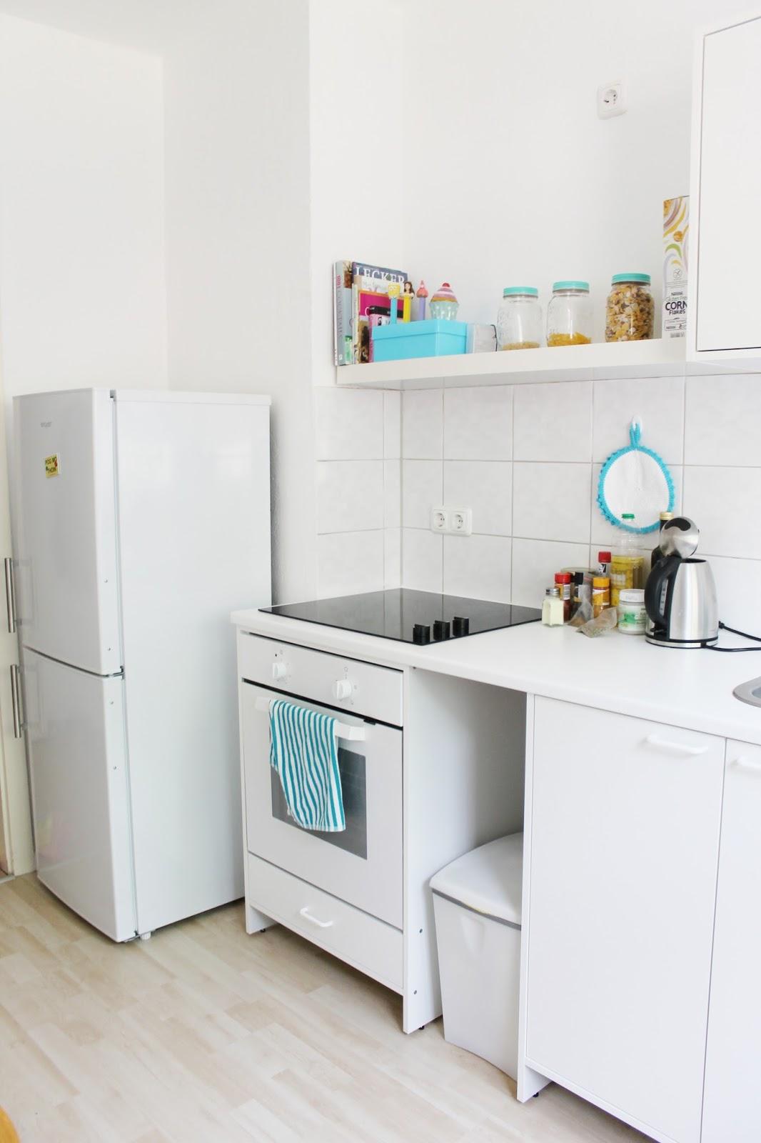 Wohnzimmerz: Kleine Küchenzeile With Küche: Wohnideen Retro ...