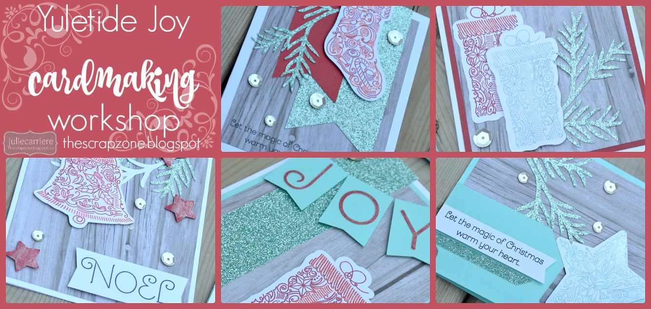 Yuletide Joy Cardmaking assembly guide EXPLORE only