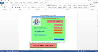 Panduan Aplikasi Raport SMA KTSP