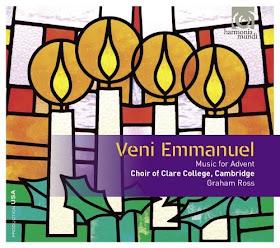 Veni Emmanuel - Choir of Clare College, Cambrdige - HMU 907579