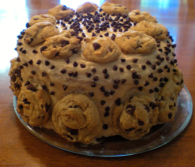 Lemonade Soul: Ultimate Chocolate Chip Cookie Dough Cake