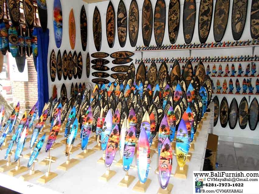 http://www.balifurnish.com/surfboard-wood-handicrafts/surfboard-wood-handicrafts.html