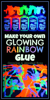 Glowing recipes- glue