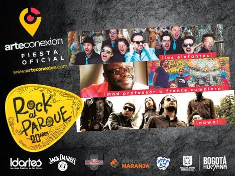 Fiesta Oficial Rock al Parque 20 Años