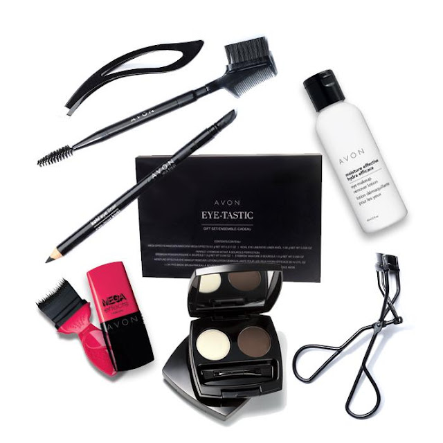 Avon 7-piece Eye-Tastic Gift Set, free with your $50 Avon purchase.