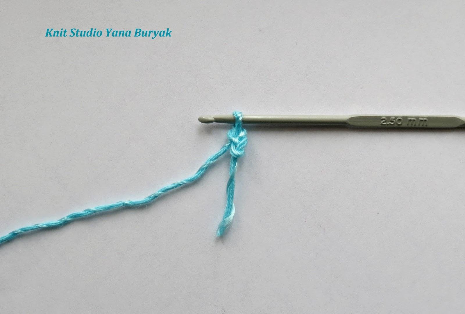 Вязание крючком жгут гусеничка