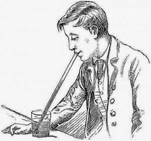 História do famoso canudo que usamos atualmente para ingerir bebidas.