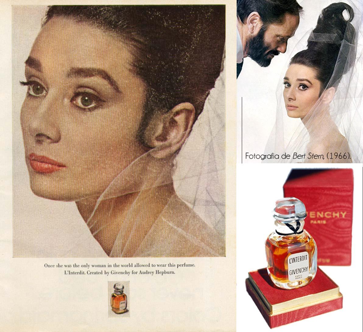 Lindissina Audrey Hepburn fotografada por Bert Stern, Givenchy