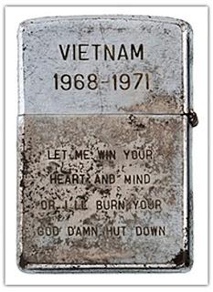 Koleksi Zippo Jaman Perang Vietnam