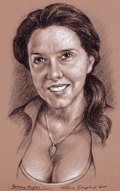 Bettany Hughes. Author, Historian and Television Broadcaster. by Travis Simpkins