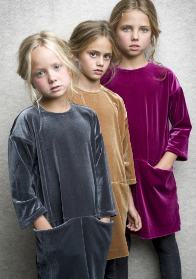 El armario de invierno de las niñas
