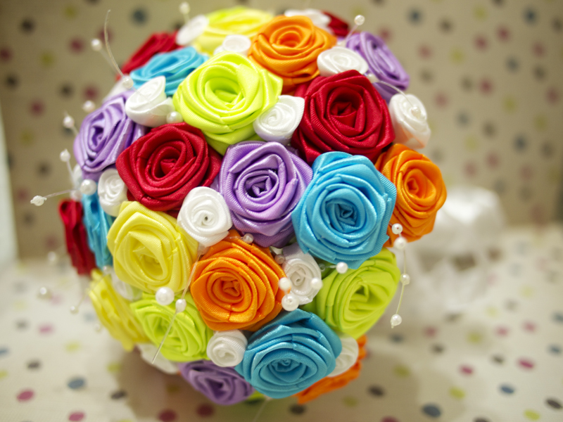 Rainbow Wedding Bouquets 14 Pic Awesome Pictures