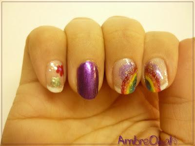 Nailstorming : Licorne, Paillettes et Monde Merveilleux