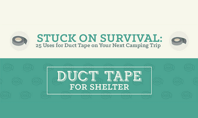Stuck on Survival 25 Uses for Duct Tape on Your Next Camping Trip