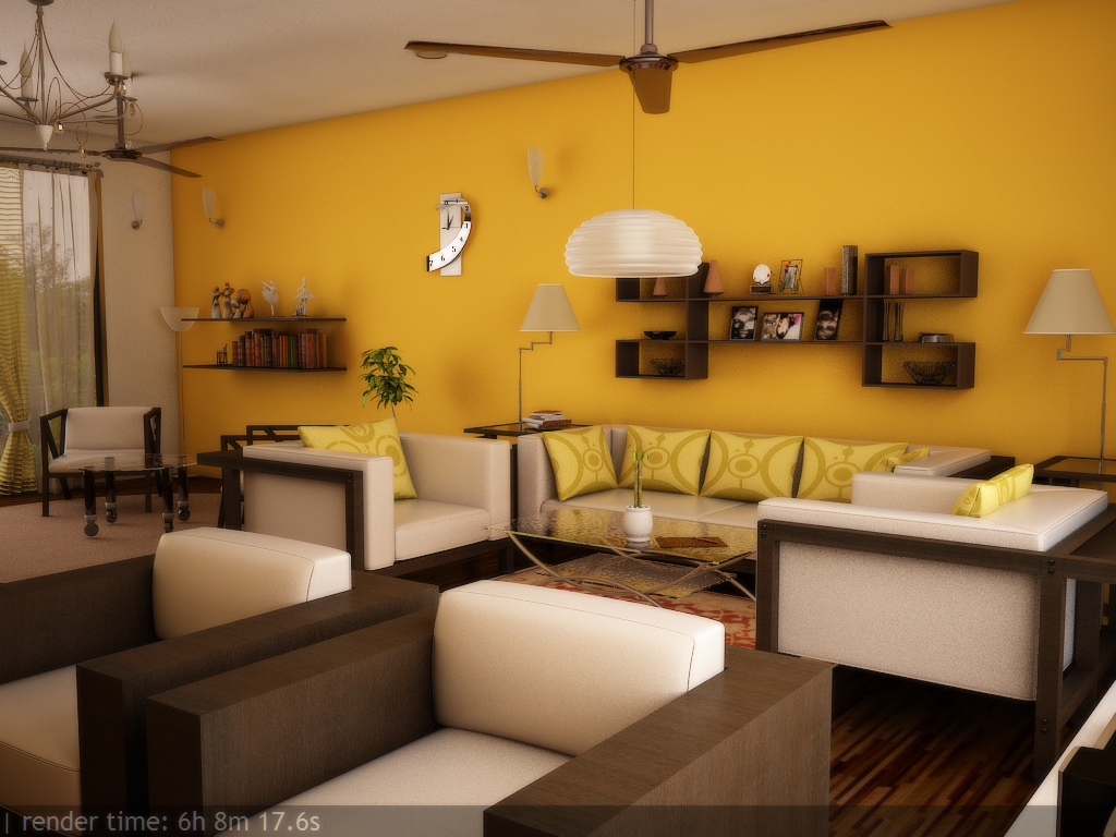 Sanikathali 3d work for How to make interior design in 3ds max