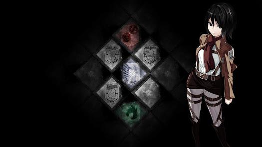 mikasa ackerman attack on titan emblem