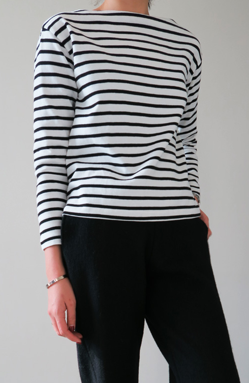 Stripes Boxy Fit Shirt