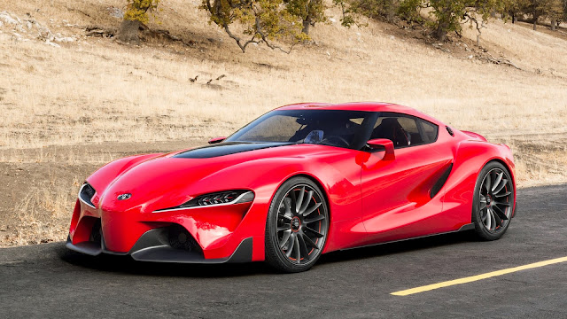 Wallpaper HD Toyota FT-1 Concept Car