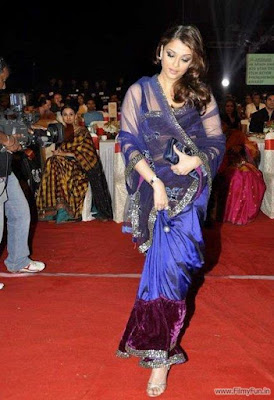 Aishwarya Rai in blue