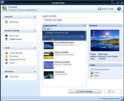 Pilih salah satu Screen yang kamu suka dan download. Disini saya