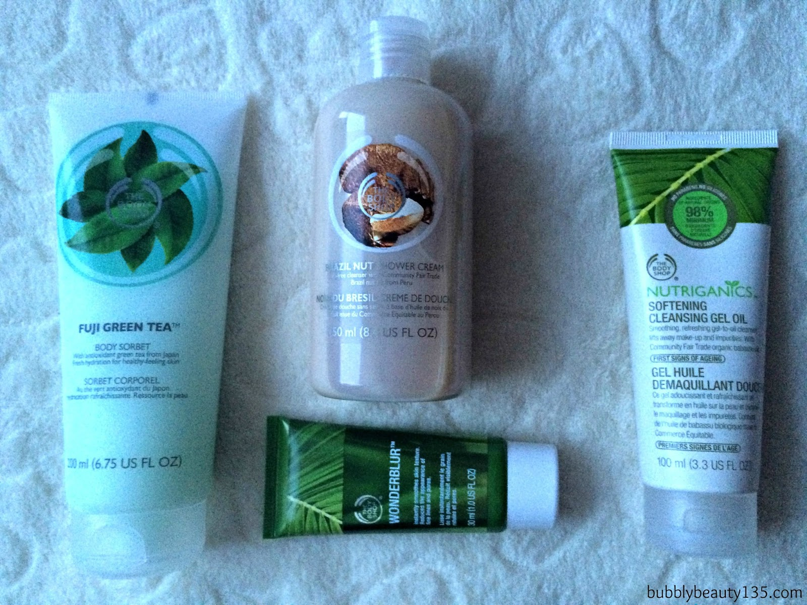 Haul | The Body Shop | www.bubblybeauty135.com
