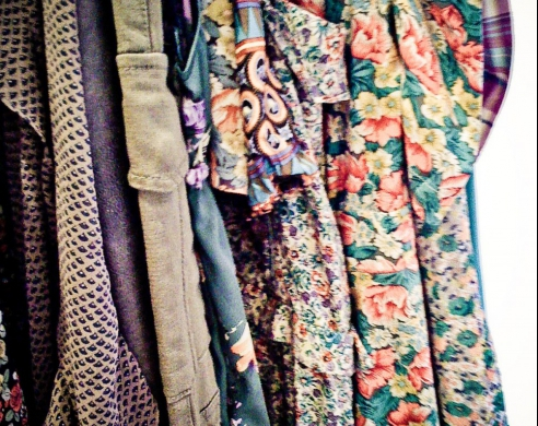 "MY NTCC - Women were expected to buy their wardrobe at the ""Kook Store"" and were clad in secondhand castoffs from yesteryear and from dead Granny's closet!"