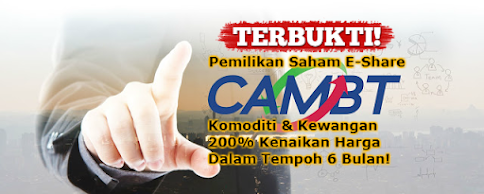 Pemilikan Saham CAM Barter Trade International Co,. Ltd,.