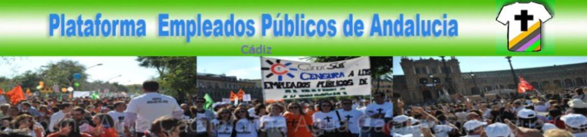 P.E.P.A Plataforma Empleados Públicos Andalucia Cádiz