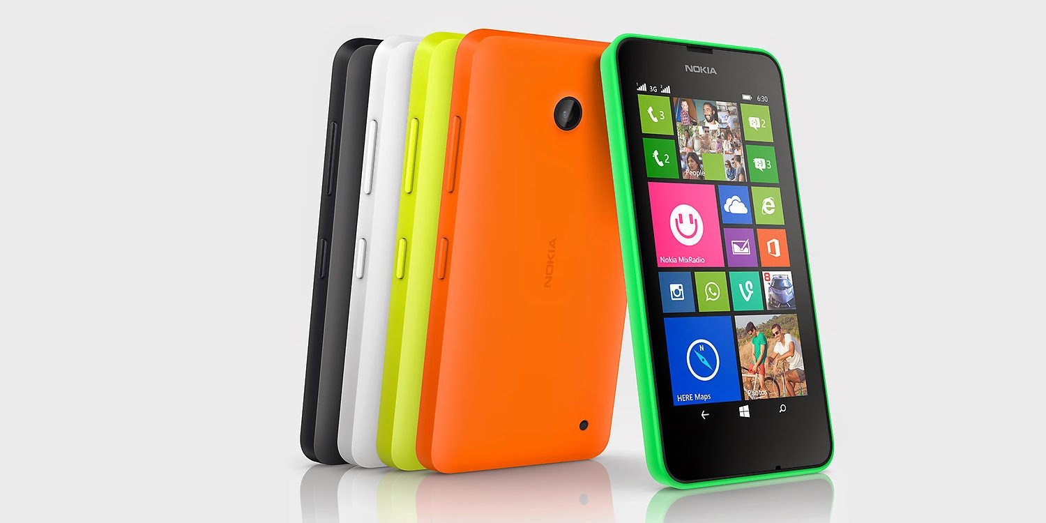 Harga Nokia Lumia 630 Ponsel Windows Phone 8.1
