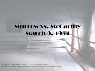Journalism: Murrow vs. McCarthy PowerPoint