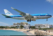 The airport is called Princess Juliana International Airport and it has .